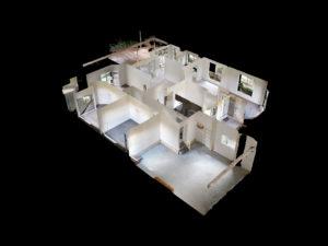 Matterport Technology: Virtual Tour Example Dollhouse View